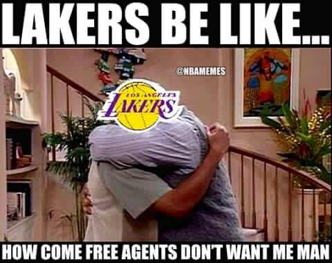 Sad but true being a laker fan.