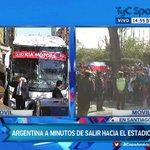 #CopaAméricaTyC En minutos, la Selección #Argentina saldrá rumbo al Estadio para jugar la #FinalCA2015 http://t.co/yWOo1Y2wOp
