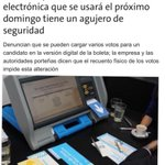 VOTO ELECTRONICO=FRAUDE En #Argentina allanan casa d especialista q denunció lo q se probó hace años en #VENEZUELA http://t.co/mVGcZY8SSf