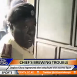 Hunter hunted as Murang'a Chief is arrested after being found with liquor under his bed. #FashionWatch http://t.co/1CnVVuRUb8