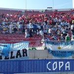 #Chile2015 Las tribunas van tomando color. Mucho albiceleste apoyando en la final. ¡Vamos @Argentina! http://t.co/5QkNRpaz1D