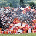 EABL loses Sh3.4m drinks in confusion over alcoholism war http://t.co/JsQ9AnBezZ http://t.co/48vVOOOEkQ