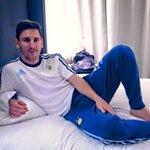 #ArgentinaQueremosLaCopa: estás por jugar una final y vos tipo... http://t.co/qkJoQO8L1l
