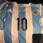 La camisa de Argentina para la final, sensacional. #VamosArgentina http://t.co/3T8PORMRkk