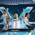 ¡Participá por un LED TV! ¿Quién hace el primer gol de #ARGxCHI? #ARG RT o #CHI FAV #PredicTweets #SomosArgentina http://t.co/NWLHfswtq5