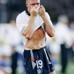 25 years ago today, Paul Gascoigne broke down in tears as England were knocked out of Italia 90 by West Germany. http://t.co/7eQ1iNWTvQ