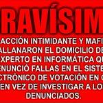 POLICÍA METROPOLITANA ALLANA DOMICILIO DE DENUNCIANTE CON ORDEN DE JUEZA MARÍA LUISA ESCRICH http://t.co/jPBSBmWsVi http://t.co/j8ETFNMn6n