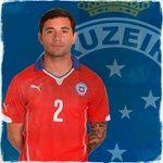 Parabéns ao nosso lateral-esquerdo, Eugênio Mena, Campeão da Copa América 2015, defendendo a Seleção do #Chile! http://t.co/kYGLRNFdN6