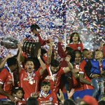 CONGRATULATIONS TO #Chile! #Chile2015 champions! See you in Russia for the 2017 #Confeds! #FinalCA2015 @ANFPChile http://t.co/U6k6wEjo53