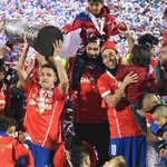 Congratulations to @Alexis_Sanchez and #CHI, who have won the Copa America for the first time! http://t.co/Rvs69r4oq3 http://t.co/bM6Z7IkzHs