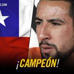 Also lifting the #CopaAmerica trophy is Mauricio Isla. Enhorabuena! #CHIARG #Chile2015 http://t.co/gmc18qgq3m