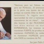 De Su Santidad Juán Pablo ll http://t.co/QcWlqk0rXl