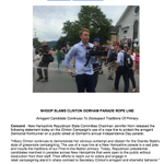 NH GOP releases statement starring @danmericaCNN (photo cred @maggieNYT) on @HillaryClinton rope line http://t.co/geFB2p2587