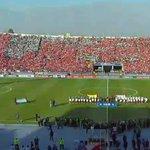 [#AHORA] El Himno #Argentino suena en el estadio de Santiago# ENVIVO ►http://t.co/TbmOqBx011 http://t.co/Y30JkkfkyA