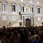 This is the 4th demo in solidarity with the Greek People in Barcelona this week #OXI #Greferendum http://t.co/SUIwCTbaGC