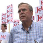 "VIDEO: Jeb Bush: ""No tolerance"" for Trumps views on Mexican immigrants @alanhe http://t.co/1HgpvzTijs http://t.co/gjVqVRLWTW"