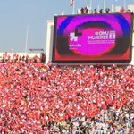 Were at the final of the #CopaAmerica, #Chile vs. #Argentina! #HeForShe http://t.co/qKV9SAbfsP