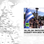 Pro-Greece rallies STORYMAP: How the world expresses solidarity with anti-austerity campaign http://t.co/3wydeWN2l4 http://t.co/uAoPhQDckl