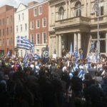 people on the streets of Europe again today saying #oxi: Dublin, Barcelona, Lisbon and Istanbul #Greferendum http://t.co/DB5yNOYSdT