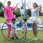 Face painting and circus tasters - all made for a great day for the kids @CotteridgePark #cocomad #Birmingham http://t.co/RB09m02DFp