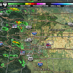Tstorms forming in the foothills now. Theyll race toward the metro area shortly. #9wx #cowx http://t.co/Z8zLMskgHs