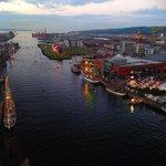 """Great shot! """"@peterfaeculter: Hot air balloons @tallships2015 @VisitBelfast #TallShips #Belfast http://t.co/IwoXeuICjA"""""""