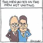 Two men united on not uniting http://t.co/auX3gaIVT9 Matt Golding cartoon via @theage #SameSexMarriage #LGBT http://t.co/QlAsprD1Fs