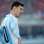 17.5 hours since Leo Messi last scored from open play in a competitive match for Argentina (1,049 minutes). http://t.co/3awGN2s6LS