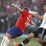 #Marcas Final cerrada de la #CA2015. #Chile y #Argentina no encuentran el camino del gol Están en el alargue (0-0). http://t.co/v7NfBPn199
