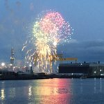 Thats fireworks done! Drive home safely and we will see you tomorrow for the parade of sail #tallships2015 SgtW http://t.co/ryUFCuDVke