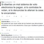 Mientras se juega el fulbo, se erosiona una de las bases de la democracia. Hora de volver al voto en papel... http://t.co/zc6S2d0JzR
