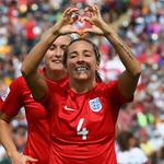 England win bronze at the #FIFAWWC for the first time ever Beating Germany 1-0 AET http://t.co/3lAUo9Fdv9 #Lionesses http://t.co/yDAC0Tqs0i