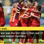 Pride. Commitment. Effort. Courage... with a bit of luck England beat Germany 1-0 Full story http://t.co/3lAUo9Fdv9 http://t.co/1UN3PEuh3B