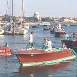 A parade of beautiful Rivas- Riva Days at Inauguration of Marina SantElena #Venice #RivaYacht http://t.co/cpPImR2Asi
