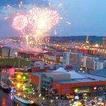 Spectacular photo of the @tallships2015 fireworks display by @peterfaeculter! #tallshipsbelfast http://t.co/BAdcG3nKkl
