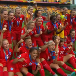 """""""They are awesome this group of players, just incredible,"""" says #ENG boss Mark Sampson: http://t.co/3lAUo9Fdv9 http://t.co/wIezxbtcPj"""