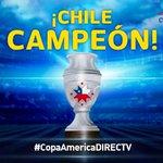 ¡¡¡LA COPA SE QUEDA EN CASA!!! ¡#CHILE CAMPEÓN! ¡#CHILE CAMPEÓN! #CopaAmericaDIRECTVChile http://t.co/7f4EhM6grZ