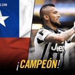 ¡Guerrero #FinoAllaFine! Enhorabuena, @kingarturo23 por la victoria en la #CopaAmerica!!! #chile2015 http://t.co/13n6yD1Q3b