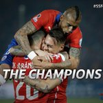 CHILE HAVE DONE IT! A 4-1 win on penalties gives then their FIRST EVER major trophy. #SSFootball #Chile2015 http://t.co/qXuOOKD4nn