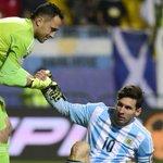 Lionel Messi a perdu sa troisième finale avec lArgentine après la Copa America 2007 et la CM 2014 (via @MessiStats) http://t.co/GUPgwEaXk8