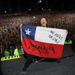 """""""@BookOfMetallicA: Congratulations to Chile for winning the Coppa America! #Metallica #Chile http://t.co/AGqDnssLqD"""" /qué grande!"""