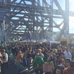 The bridge is officially open #storybridge75 #9NewsAt6 @brisbanecityqld @9NewsBrisbane http://t.co/RAq95hvXaC