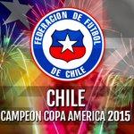 !CHILE CAMPEÓN! #CopaAmerica 2015 http://t.co/2SzAK33CUc http://t.co/oBATd3rBlf