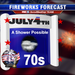 Should be good for #DC #Fireworks #July4th http://t.co/oCC80PQlQW