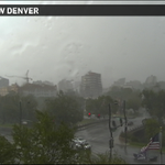 Nasty storm rolling through #Denver! Lightning, thunder, wild winds and heavy downpours! Got pics? Tweet us! #9wx http://t.co/oOHbjaNs6u