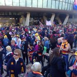Incredible scenes at Adelaide Oval. Thousands now standing in silence. #RIPPhilWalsh #9news http://t.co/RnQkHm96Zx