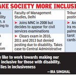Dawn of a new Ira: UPSC's top 4 all women, led by differently-abled engineer http://t.co/8DVfuqwjI3 http://t.co/eaqUqQkiyG