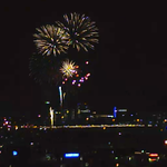 Happy #FourthofJuly #IndependenceDay! Tempe Town Lake #fireworks seen from the studio. Wish I was there! http://t.co/McA4SD0LfM