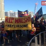 An extraordinary outpouring of grief as South Australia pays tribute to Phil Walsh. #RIPPhilWalsh #9News http://t.co/v2GiFXB8cX