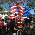 At the East Sacramento parade for the 4th of July.  @eastsac. Feeling at home but hot.  @sacstate http://t.co/LGFgOtU2YZ